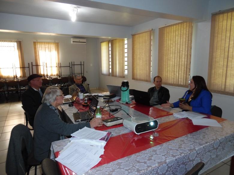 Reunião comissão de reforma do estatuto da IECB