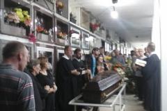Ato sepultamento Pr. Roberto