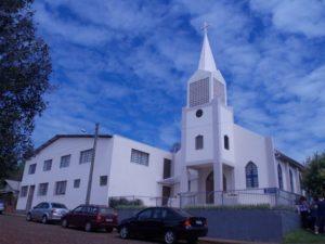 Igreja Matriz e Salão Social