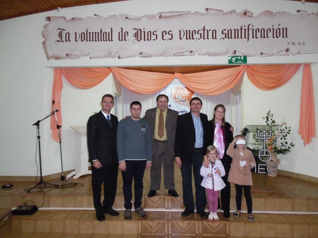 Com Heóis da Fé e Pr. Carlos en 25 de Mayo, Argentina